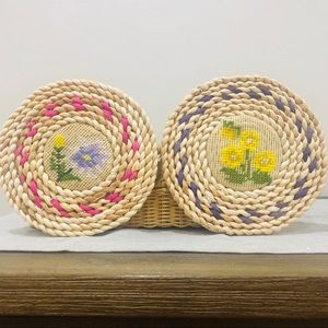 Vintage Placemats Set of Two